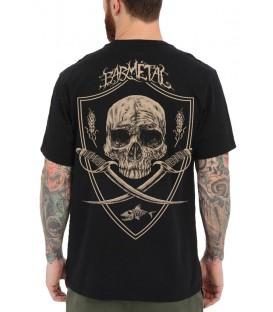 Barmetal Shirt Skulls N' Swords