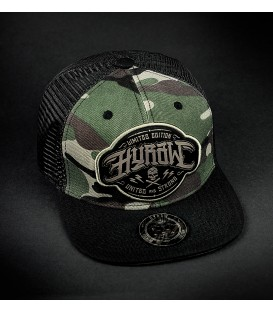 Hyraw Snapback Cap Death 2 Hipsters