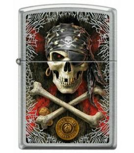 Zippo Anne Stokes Pirate Skull