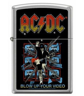 Zippo Feuerzeug AC/DC Blow Up