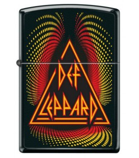 Zippoe Feuerzeug Def Leppard Logo