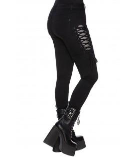 Killstar Skinny Jeans Get Laced