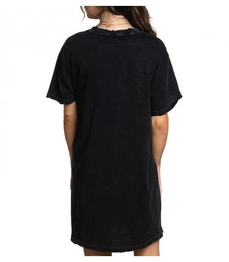 Affliction Überlanges Shirt/Dress Leopard Rock