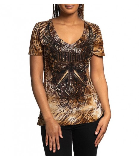Affliction Shirt Lily Anne
