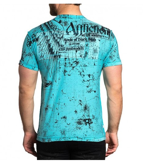 Affliction Shirt Reversible 2 in 1 Brixton Tribe