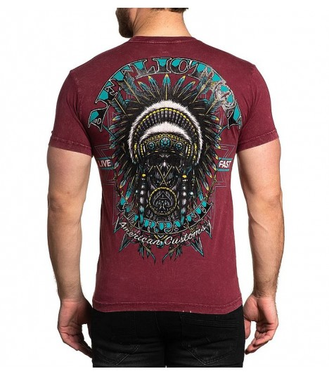 Affliction Shirt Reversible 2 in 1 AC Rebel Warlord