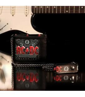 AC/DC Portemonnaie Black Ice