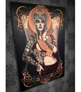 Barmetal Leinwand 90x60 CM Cleopatra