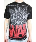 WAR MX Shirt Stamped schwarz