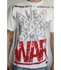 WAR MX Shirt Stamped weiss