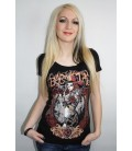 Barmetal Cowgirl Scoopneck