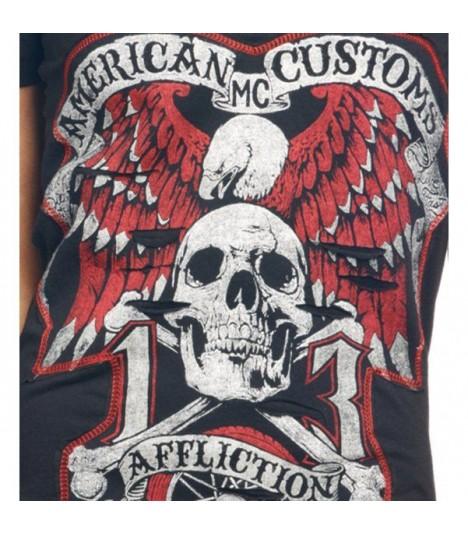 Affliction Shirt Jolly Rogers