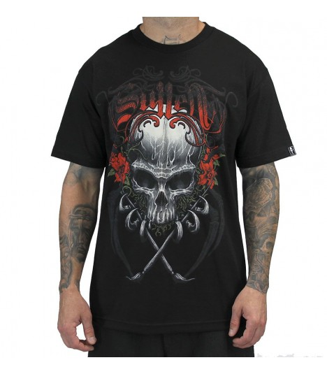 Sullen Shirt Death Badge Black