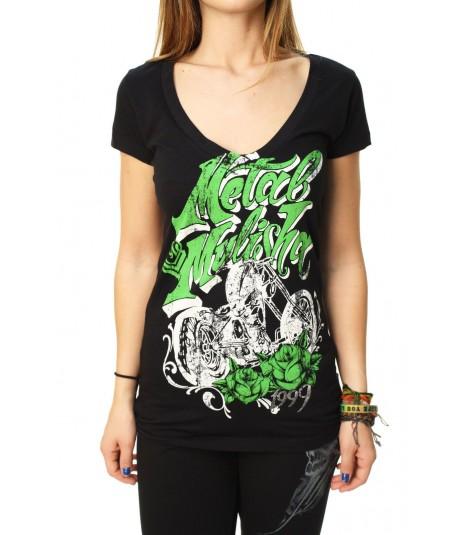 Metal Mulisha Shirt Biker Lady