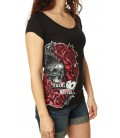 Metal Mulisha Shirt Skull N' Roses