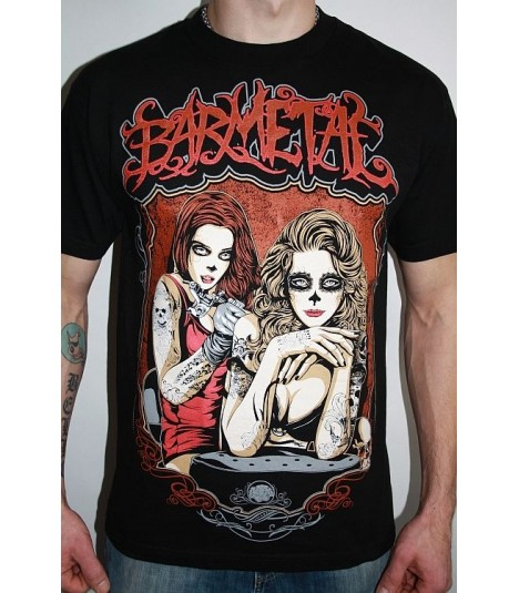Barmetal Shirt Tattooist