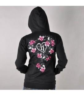 Hostility Zip-Hoodie Blossom