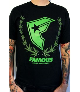 Famous Shirt Weed Wreath