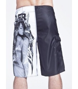 Hustler Boardshorts Trust No Bitch