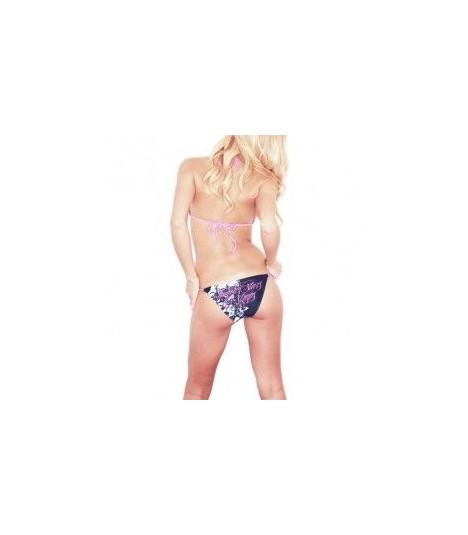 Famous Stars and Straps Bikini In Threes