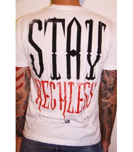 Young and Reckless Shirt Stay Young White