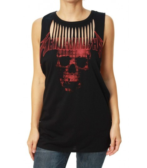 Metal Mulisha Tanktop Laser Cut