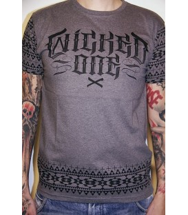 Wicked One Shirt Mayans Grau
