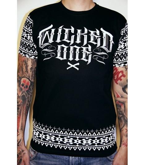 Wicked One Shirt Mayans Schwarz