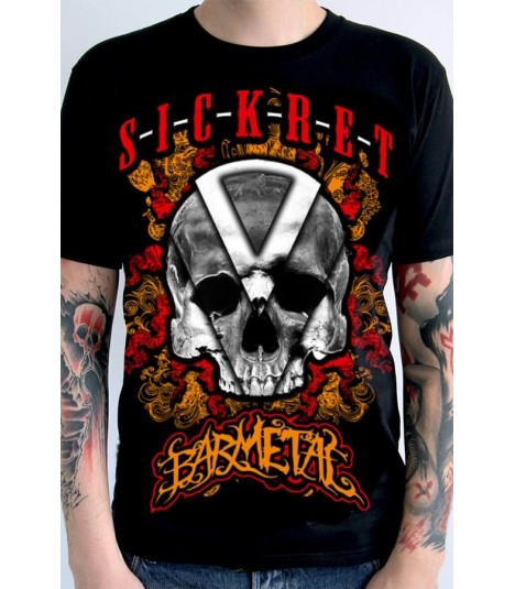 Barmetal Shirt Sickret Orange