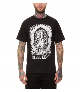Rebel 8 Shirt Worship Worthy Black