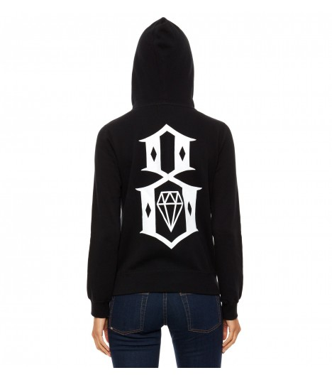Rebel 8 Hoody Logo