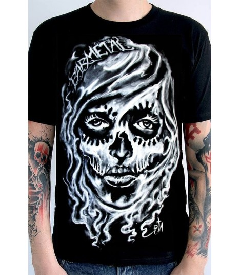 Barmetal Shirt Smoke Art