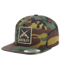 Hostility Snapback Cap Cross Guns