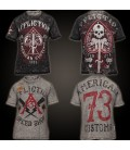 Affliction Shirt Reversible 2 in 1