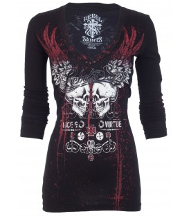 Rebel Saints by Affliction Dress Peacemaker