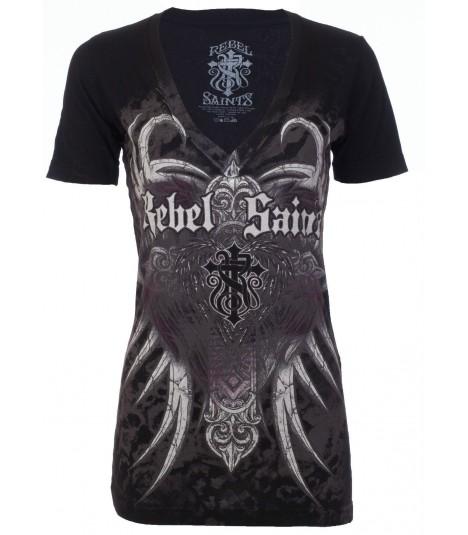 Rebel Saints by Affliction Shirt Underground