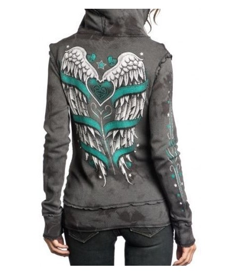 Sinful by Affliction Hoody 2 in 1 Reversible