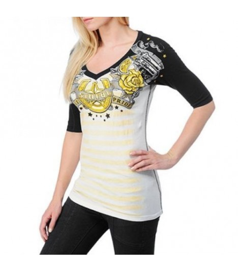 Sinful by Affliction Shirt Western