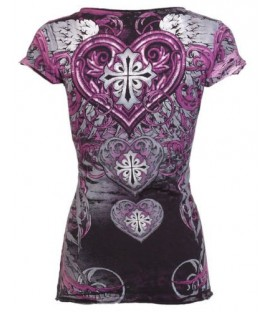 Archaic by Affliction Shirt Heart