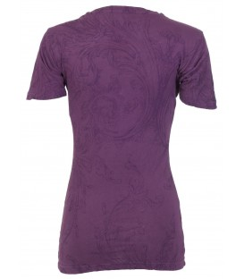 Archaic by Affliction Shirt Purple