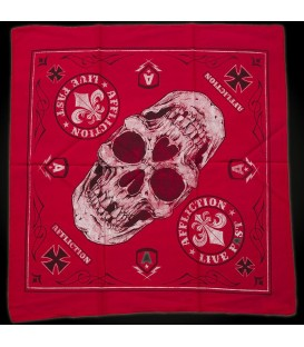 Affliction Bandana Red Seal