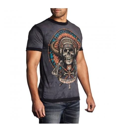 Affliction Shirt Tomahawk