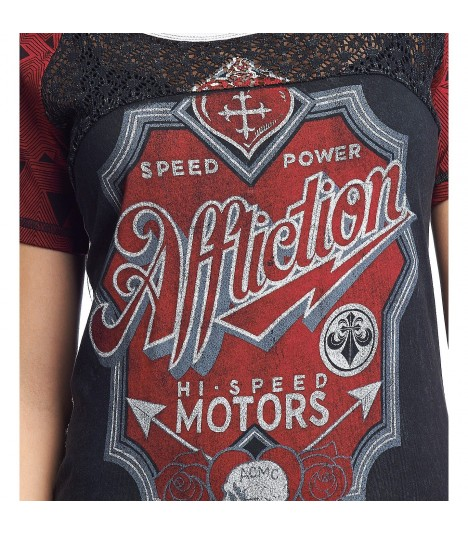 Affliction Shirt Motors
