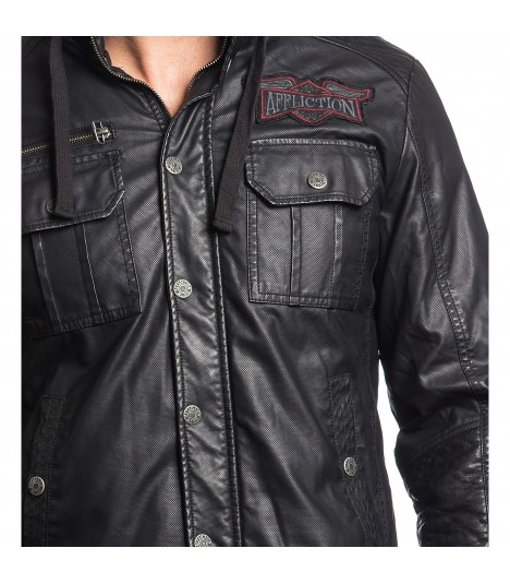 Affliction Jacke Dark Battle