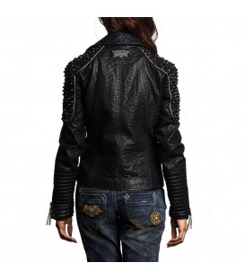 Affliction Jacke Black Cloud