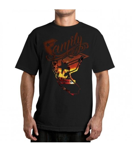 Famous Stars and Straps Shirt Wild Sunset