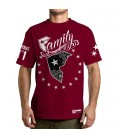 Famous Stars and Straps Shirt Wild Patriot Burgundy