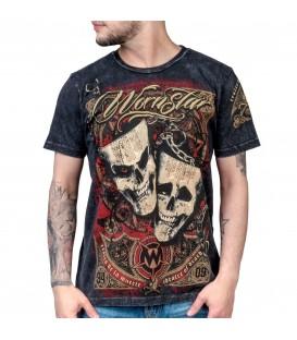 Wornstar Shirt Muerte Mineral Wash