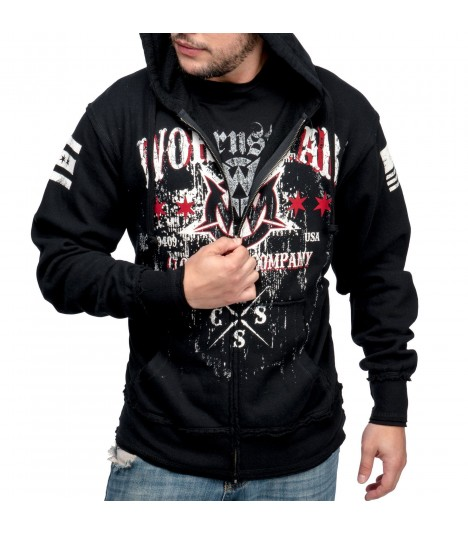 Wornstar Hoody Death Mechanic