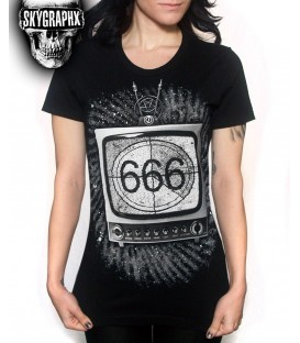 Skygraphx Shirt 666 TV
